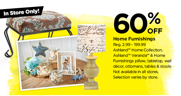 60% Home Furnishings