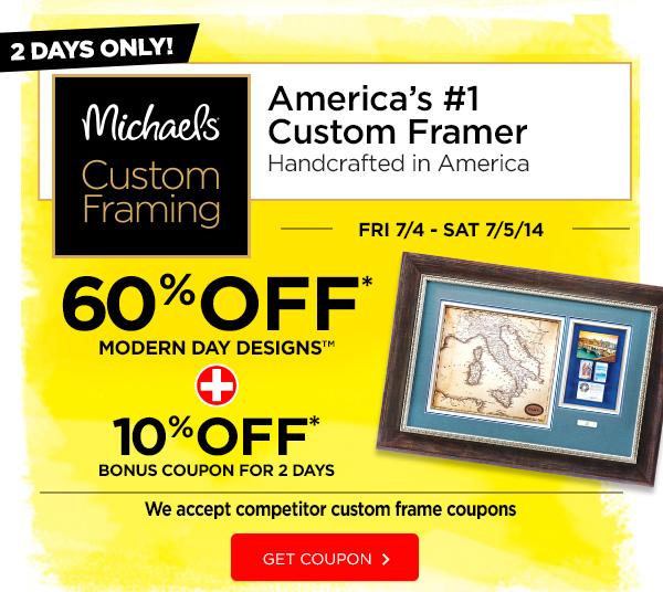 60% OFF MODERN DAY DESIGNS + 10% OFF