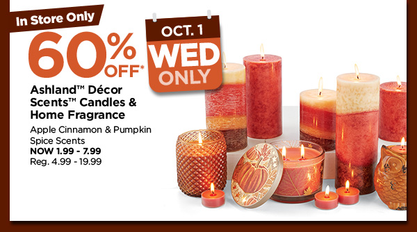 Last 7 Days of Fall Daily Deals from Michaels