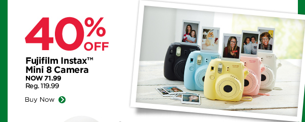 40% OFF Fujifilm Instax™ Mini 8 Camera