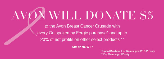 Avon Breast Cancer Crusade Donation Products