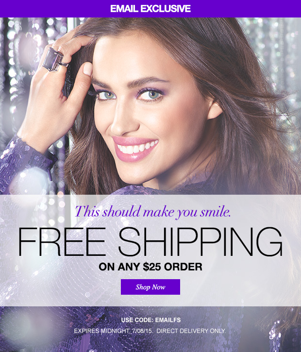 Free Shipping Today: Free Shipping Today Only!