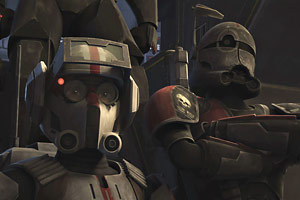 Meet the Bad Batch in Star Wars: The Clone Wars