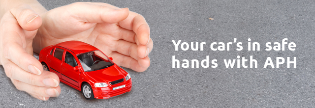 Your car in safe hands with APH